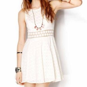 Free People Daisy Cutout Lace Dress Size 2
